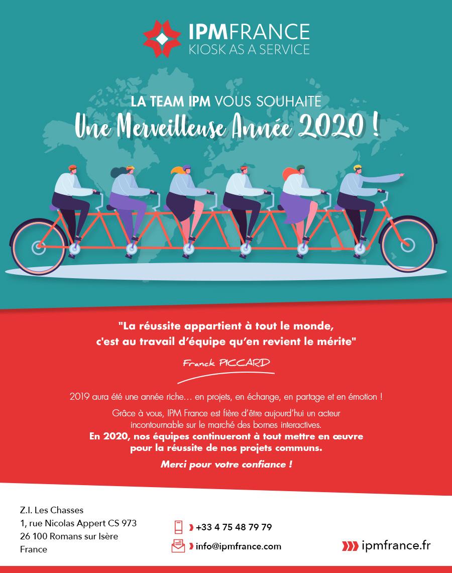 Voeux IPM France 2020-bornes interactives