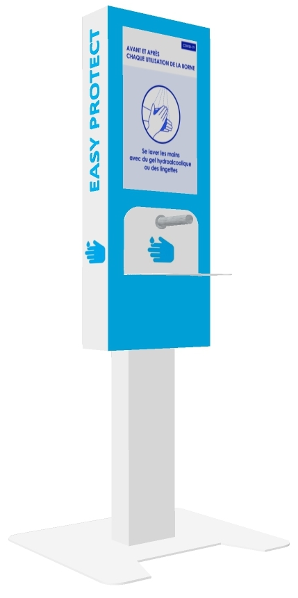 EasyProtect_distribution GHA-borne interactive affichage dynamique